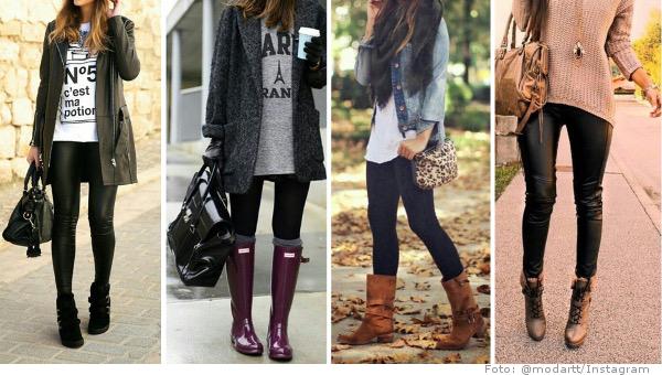 How to wear leggings outfits im alltag so geht 39 s richtig fashionzone - Leggings kombinieren ...